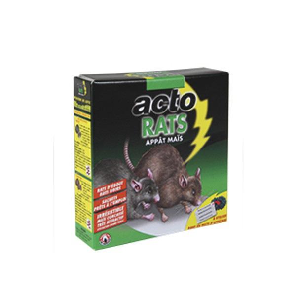 Acto Rats appâts rodenticide Maïs 140g RAT8