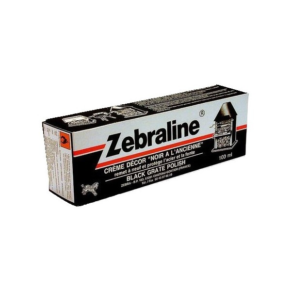 Zebraline pâte noire ferronnerie 100 ml
