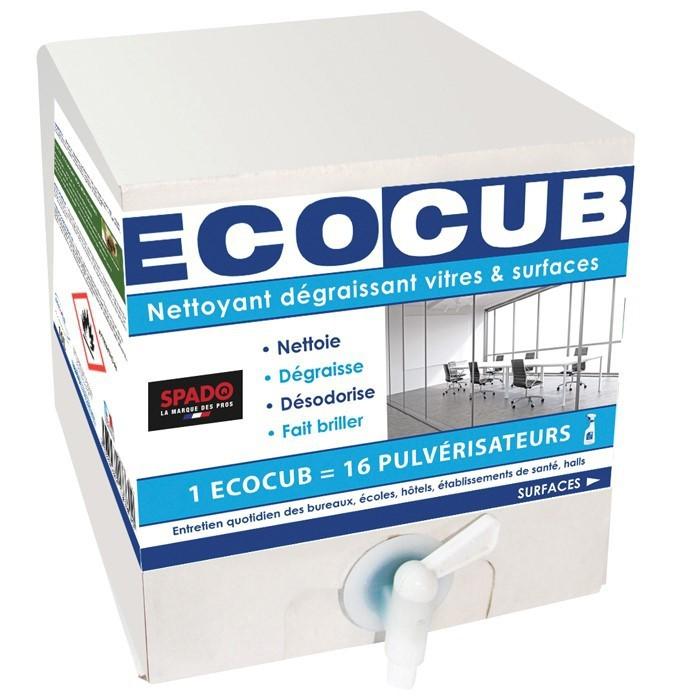 Ecocub Cleaner nettoyant dégraissant vitres et surfaces 10L