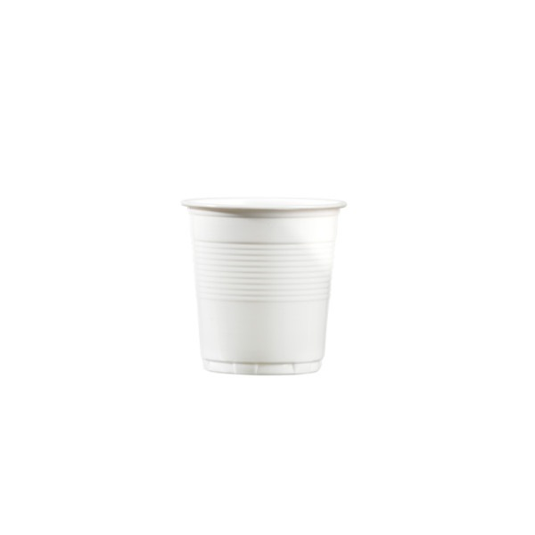 Carton 48x100 gobelets 10cl blanc pour boissons froides