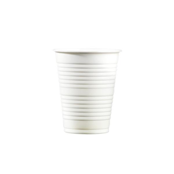 Carton 30x100 gobelets lourds 20cl blanc pour boissons chaudes ou froides