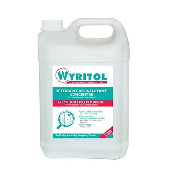 Wyritol détergent désinfectant concentré 5L
