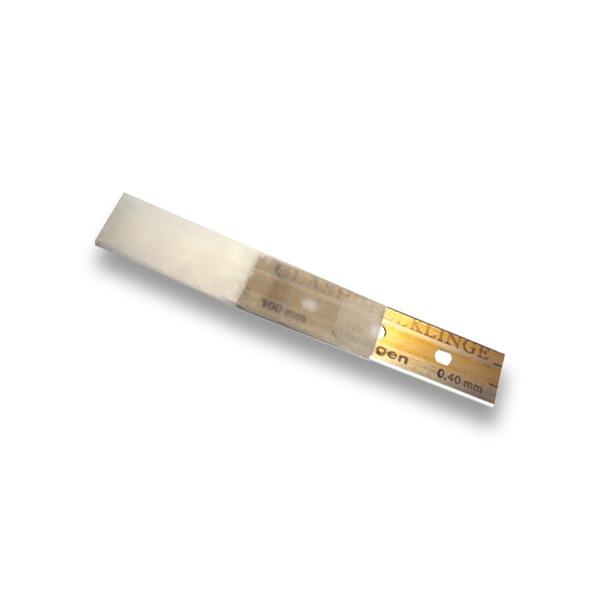 Paquet de 25 lames de rechange pour sols 0,4 mm