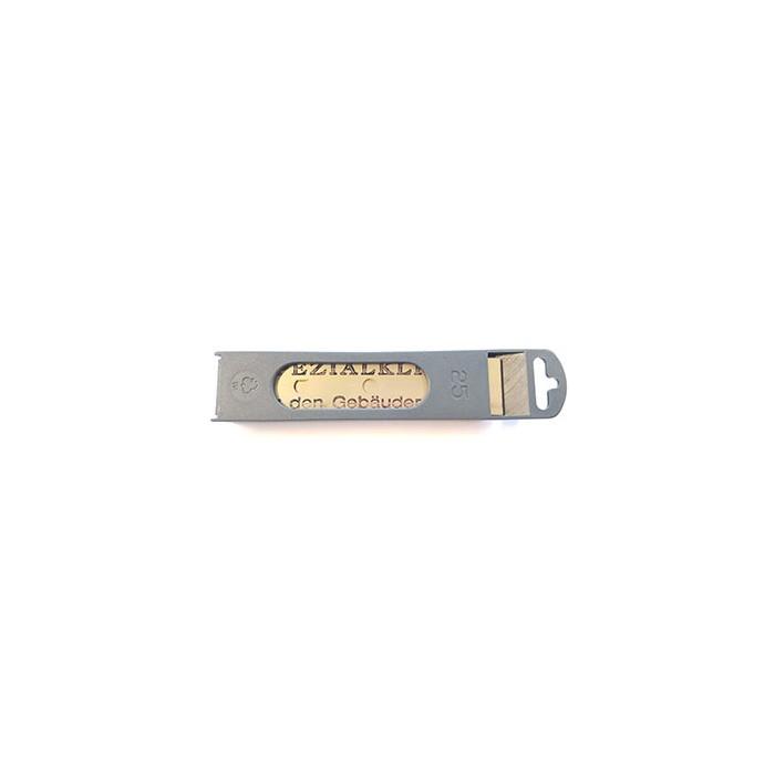 Boîte Distributrice 25 Lames pour Vitres 0,2 mm