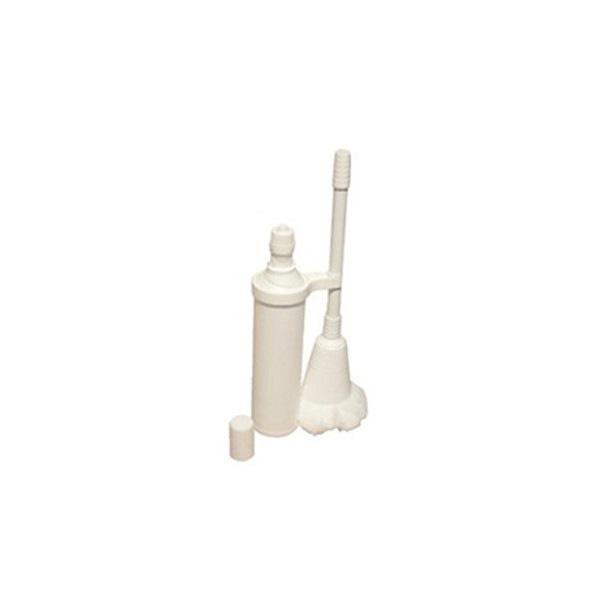 Kit flacon et balayette pour le détartrage des sanitaires