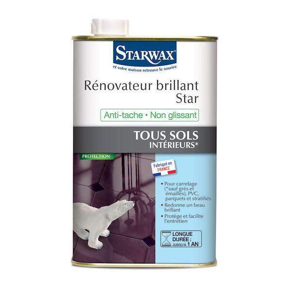 Rénovateur brillant Star tous sols intérieurs Starwax
