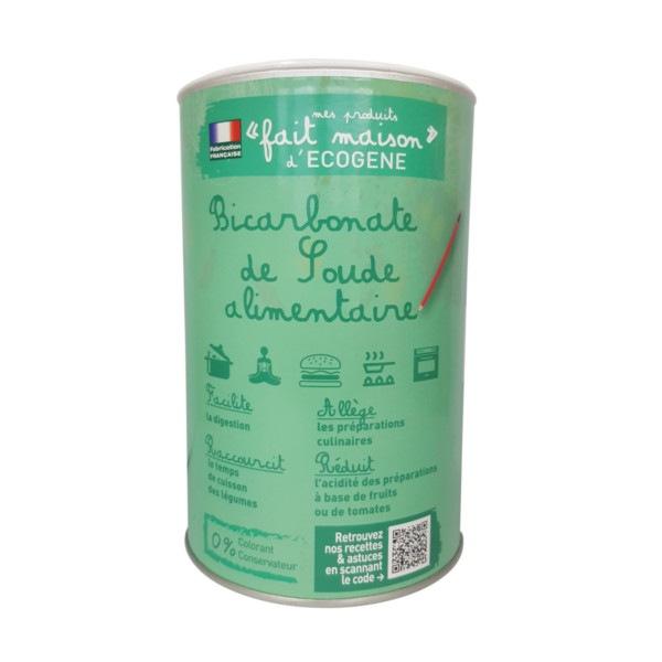 Bicarbonate de soude alimentaire 1,5 kg Ecogène