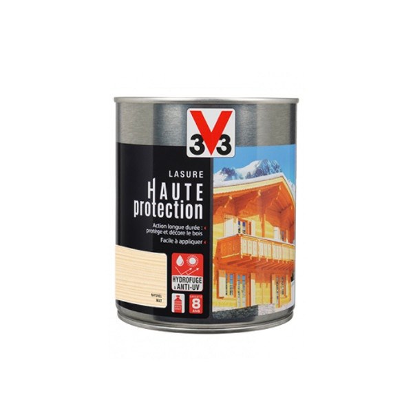 Lasure haute protection solvantée satin V33