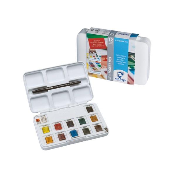 Pocket box aquarelle Van gogh