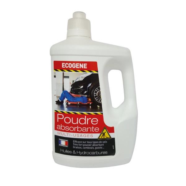 Poudre absorbante multi-usages Ecogene 2 kg