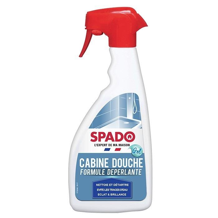 Nettoyant cabine de douche déperlant 500ml Spado