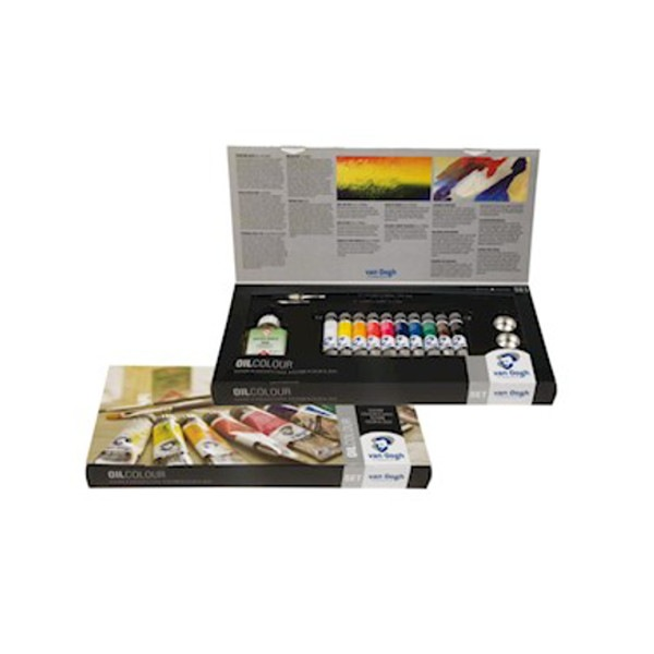 Set combi 10 x 20 ml couleurs à l'huile Van Gogh