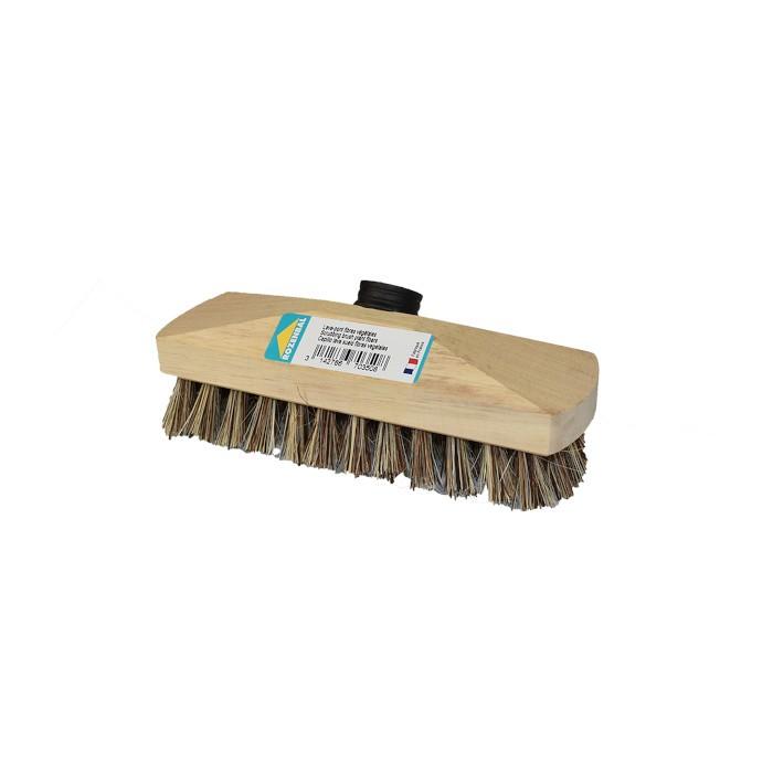 Lave-pont fibres végétales semelle bois