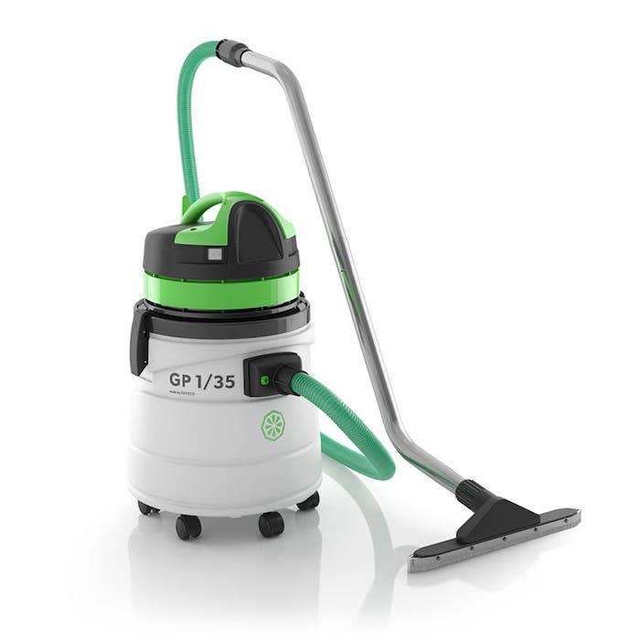 Aspirateur eau et poussière cuve plastique ICA GC1/35