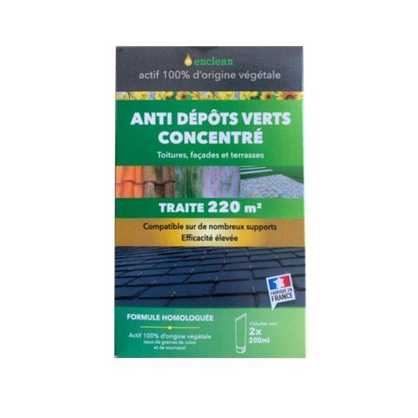 Anti dépots verts Enclean actif 100% d'origine végétale 400 ml