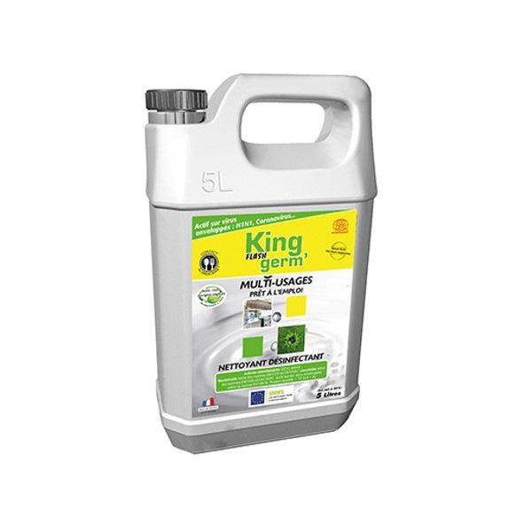 Flash Germ désinfectant écologique 5 L prêt à l'emploi