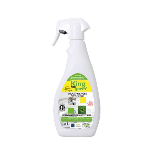 Flash Germ désinfectant écologique 750 ml prêt à l'emploi