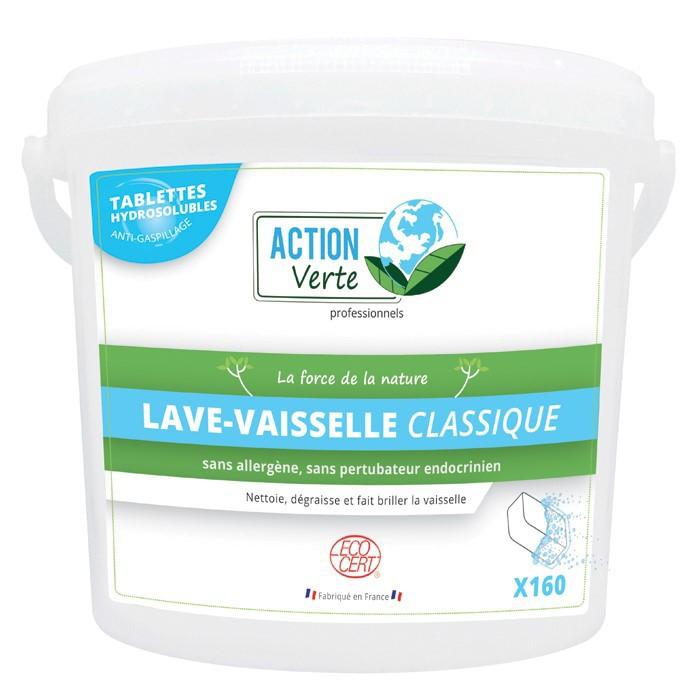 Tablette lave vaisselle écologique cycle classique Action Verte