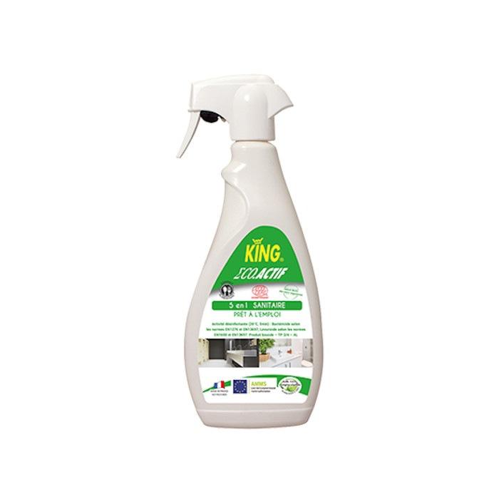 Nettoyant désinfectant sanitaire écologique King 750 ml