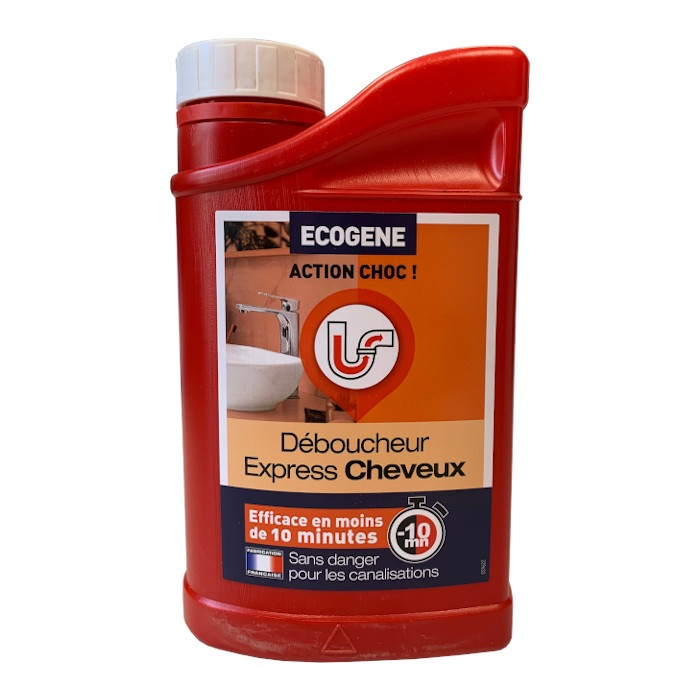 Déboucheur Express cheveux 1L Ecogene