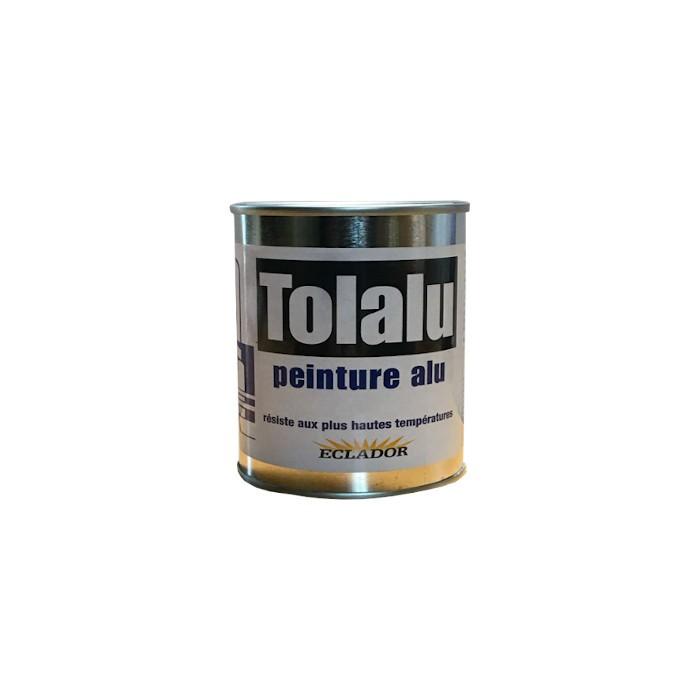 Peinture Aluminium haute température Tolalu 250 ml
