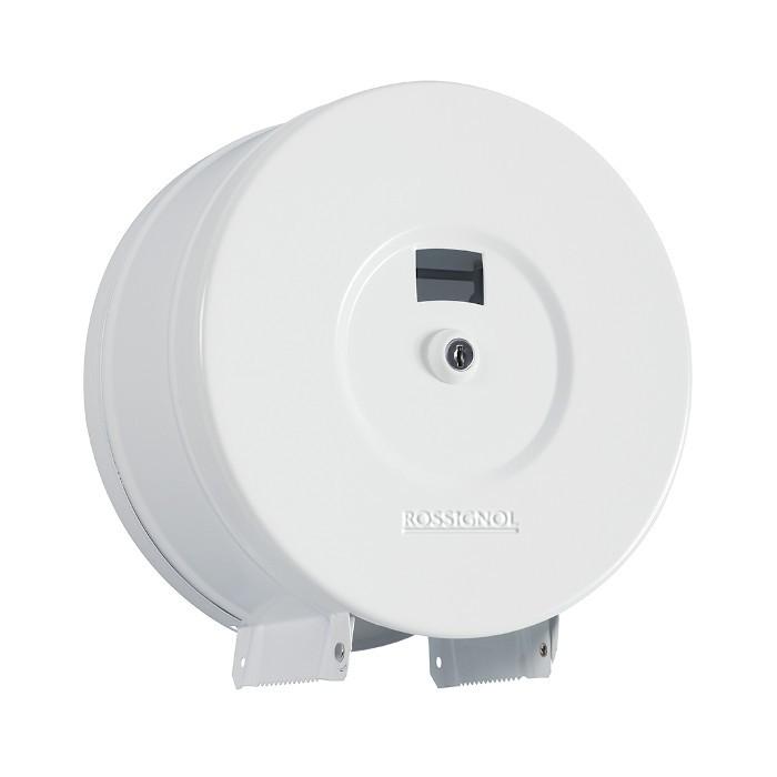 Distributeur papier hygiénique 200m Blanc Signalisation Ref 58574