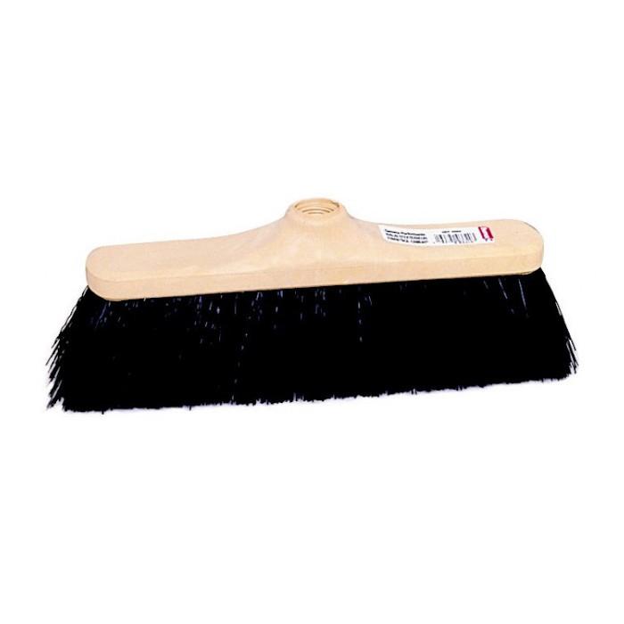 Balai extérieur fibre PVC sol irréguliers 29 cm