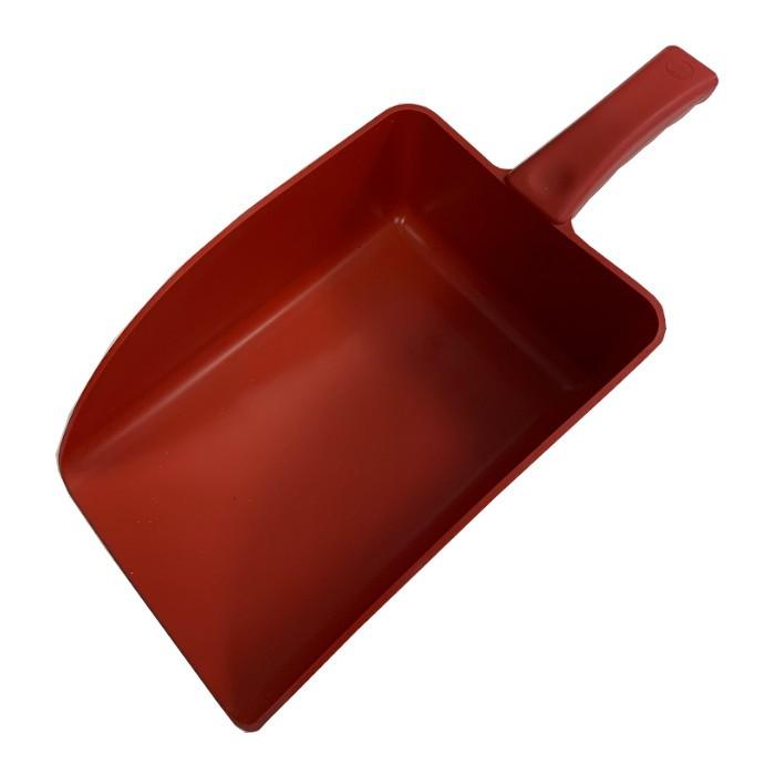 Pelle de pesée 1 kg polypropylène rouge