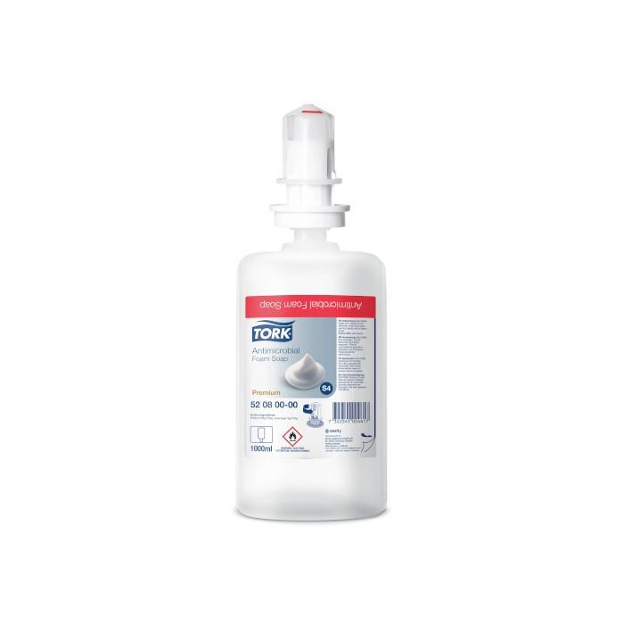 Savon Mousse Antimicrobien 1 L Tork