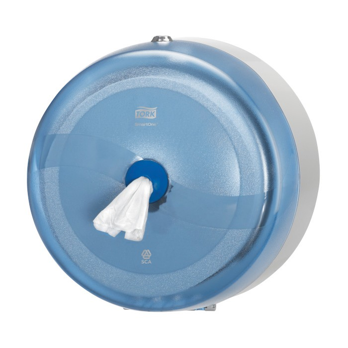Tork SmartOne Distributeur pour Papier toilette rouleau bleu