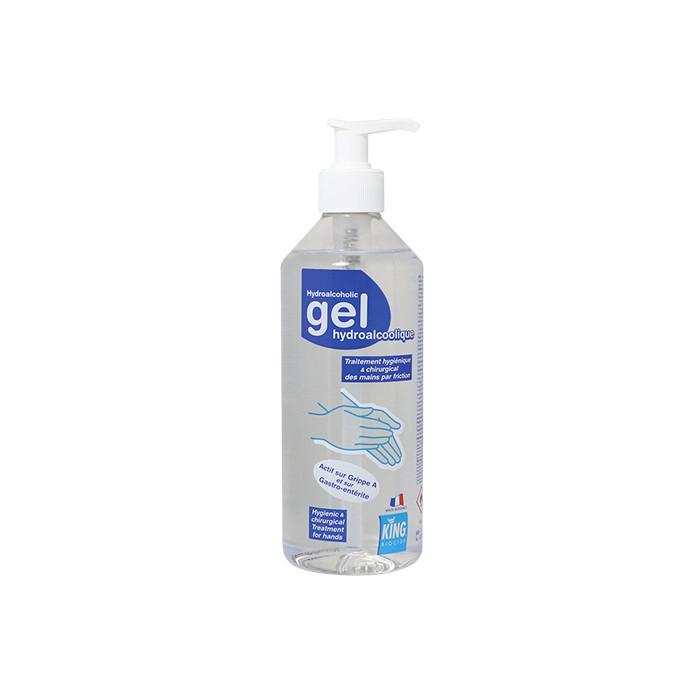 Gel hydroalcoolique 500 ml King