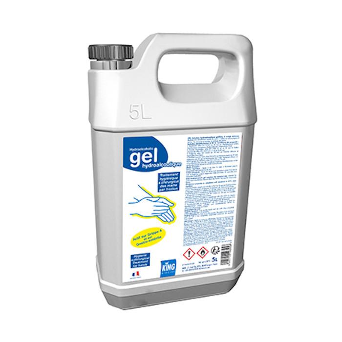 Gel hydroalcoolique 5 L King